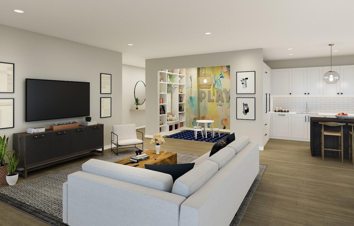 Final Render Residence 9 Scheme 1 Copy