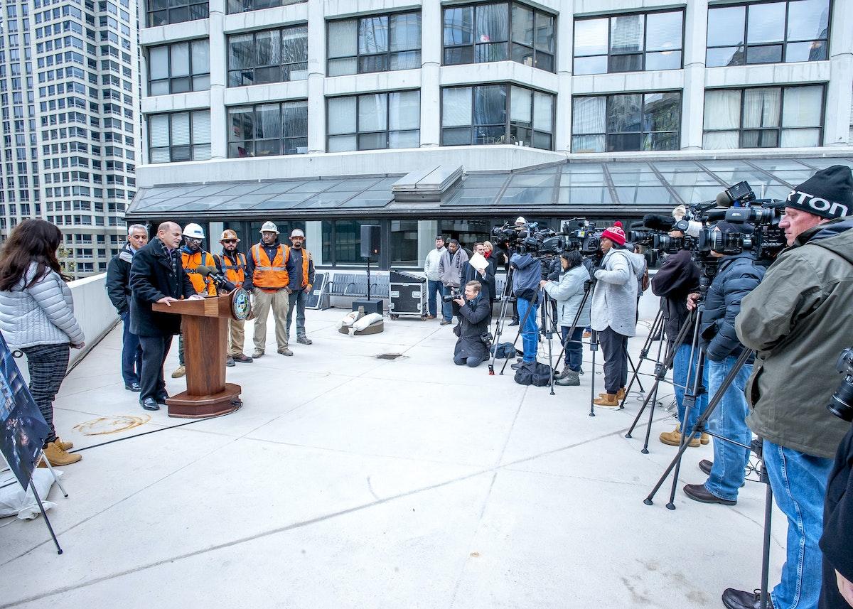crane press conference