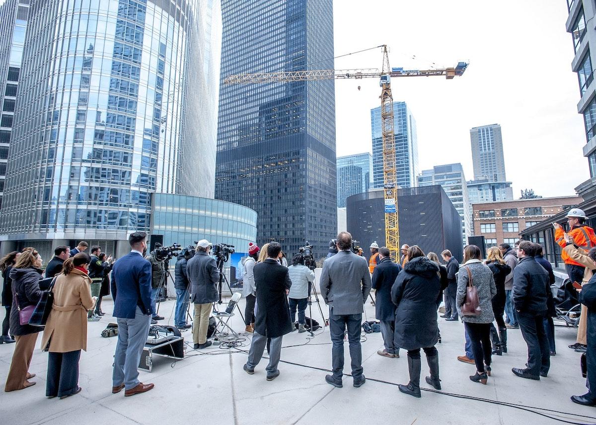 60th crane press conference